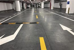停车场地面——密封固化地坪解决方案