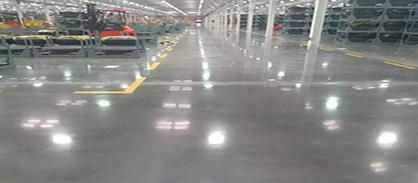 工业地坪:至少超过20年使用保证,拥有超过60年的历史记录