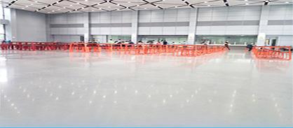 商业地坪:至少超过10年使用保证,不退光,免维护