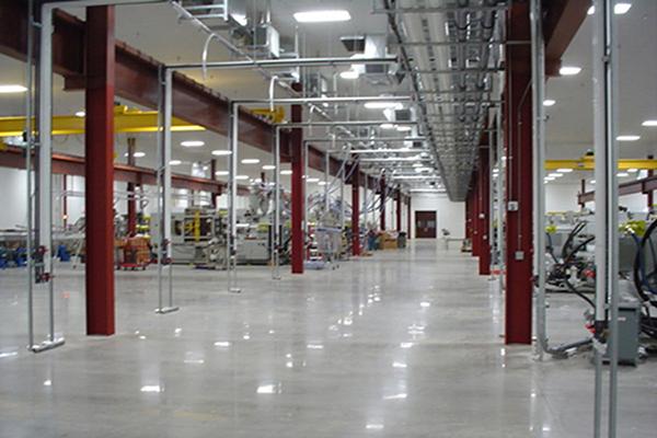 工程机械和装备车间地面解决方案