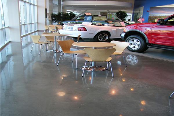 迪乐堡展厅地面系统