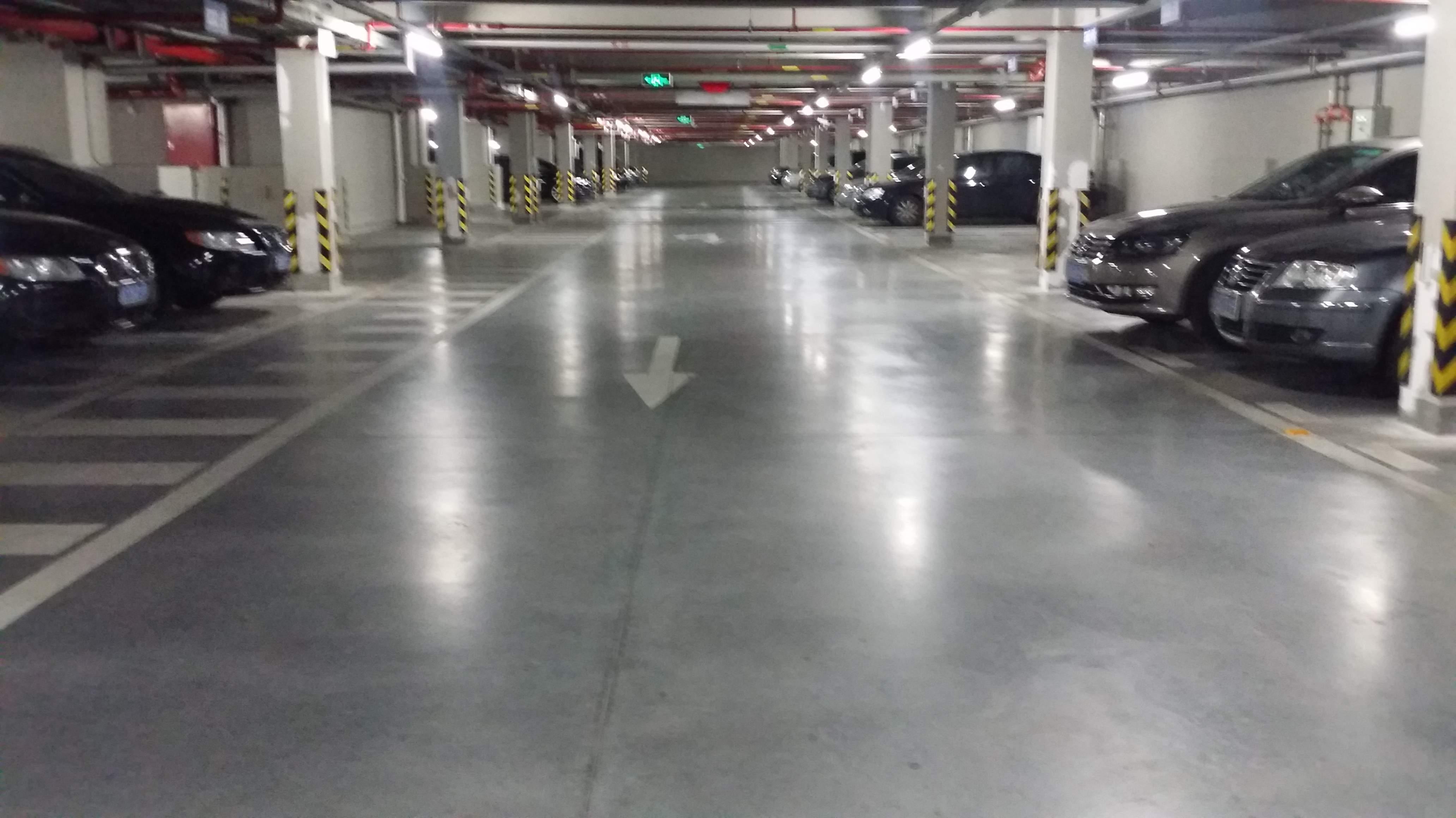 上海同济设计院安斯福混凝土固化剂地坪项目