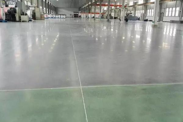 云南侨通包装印刷车间地面——密封固化地坪