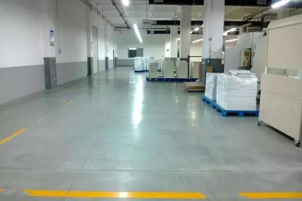 上海界龙包装安斯福混凝土固化剂地坪项目