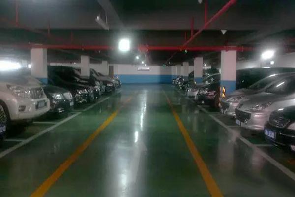 重庆机械三院地下停车场-迪乐堡密封固化地坪