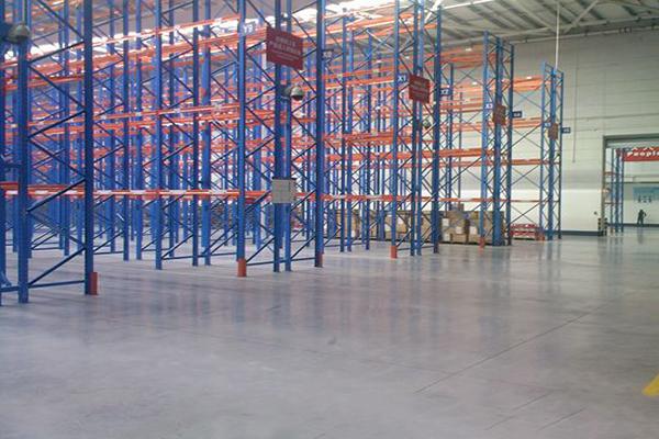 叶水福国际物流安斯福混凝土固化剂地坪项目