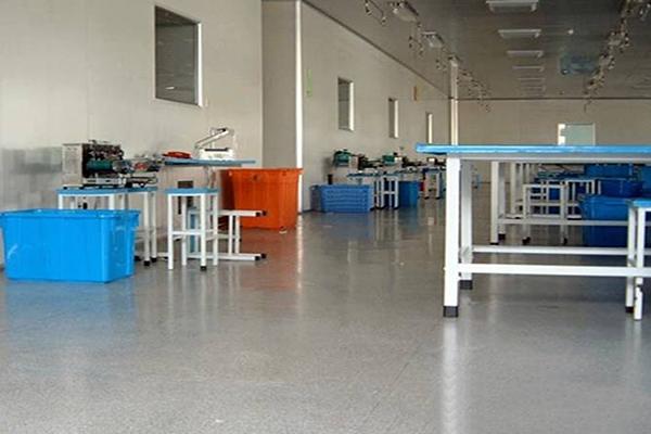 宇寿医疗器械安斯福混凝土固化剂地坪项目