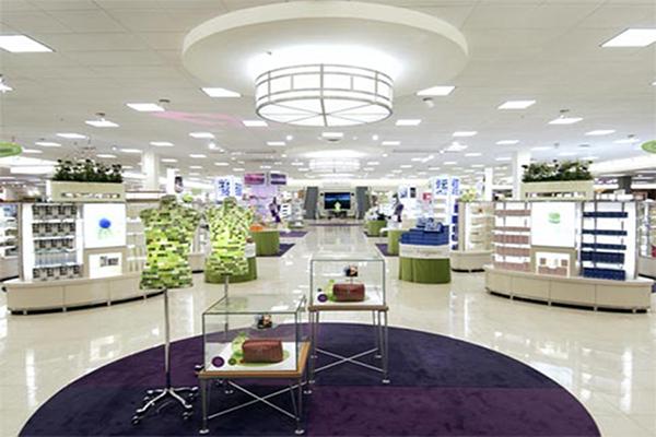 美国购物中心——钢化地坪