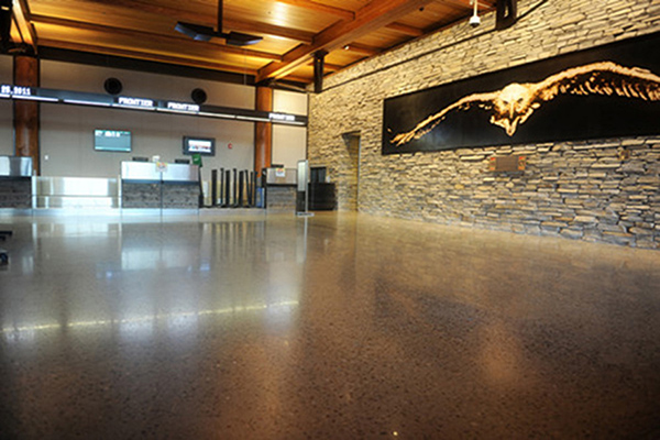 黄石机场钢化地坪项目