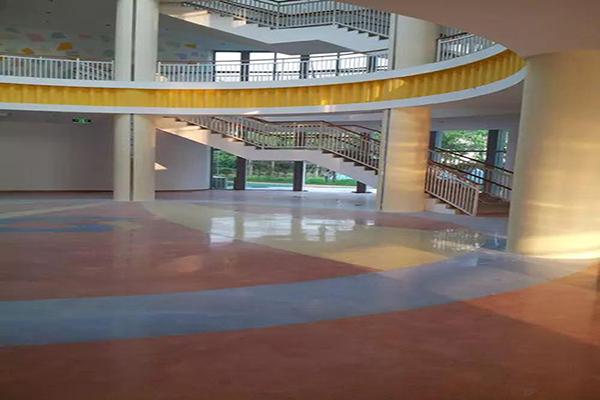 海门市直机关幼儿园——钢化地坪