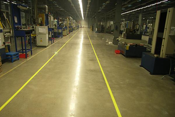 伊顿液压机械车间地面——密封固化地坪