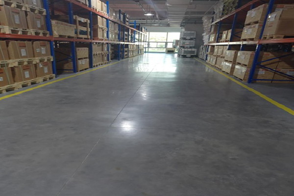 上海普旭真空设备国际贸易安斯福妙乐固化地坪项目