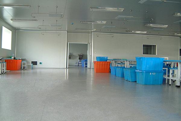 无锡宇寿医药车间地面—迪乐堡密封固化地坪