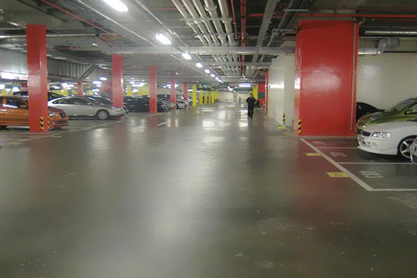 澳门威尼斯人停车场地面——迪乐堡密封固化地坪
