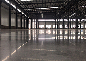 青岛世纪海佳机械车间地面-----地坪一体化施工