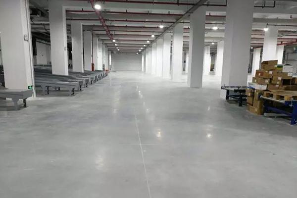 华润医药车间——密封固化地坪项目